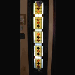 stained glass window sidelight privacy color