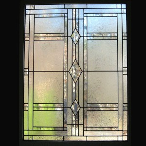 stained glass window privacy beveled bathroom