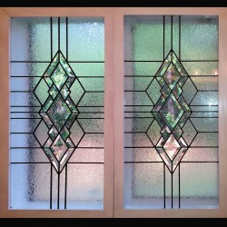 stained glass window bathroom privacy window bevels
