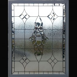 beveled window stained glass